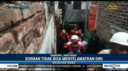Kebakaran di Bandung Tewaskan Seorang Anak