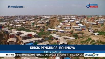 Pengungsian Rohingya di Bangladesh Terancam Banjir