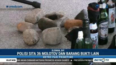 Polisi Tetapkan 12 Orang Tersangka Kerusuhan Demo Hari Buruh di Yogyakarta