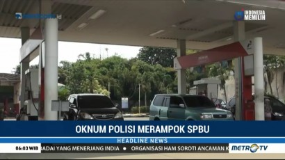 Rampok SPBU, Oknum Polisi di Serang Bawa Kabur Rp50 Juta