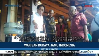 Warisan Budaya Jamu Indonesia
