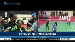 Diplomasi Bulutangkis Jokowi