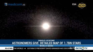 Astronomers Given Detailed Map of 1.7 Billion Stars