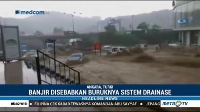 Banjir Bandang Terjang Kota Ankara