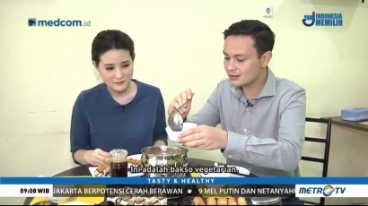 Mencicipi Shabu-shabu dan Sushi Vegetarian