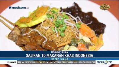 Kuliner Indonesia Laris Manis di Rusia