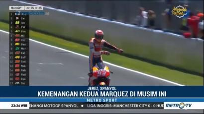 Marquez Raih Podium Pertama di GP Spanyol