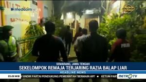 Bubarkan Balapan Liar di Semarang, Polisi Sita 5 Sepeda Motor