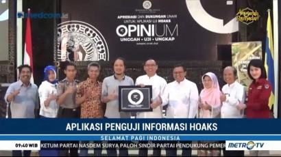 Tangkal Hoaks dengan Aplikasi Opinium