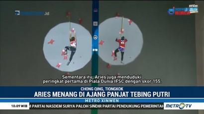 Atlet Panjat Tebing Indonesia Menang di Kejuaraan Dunia