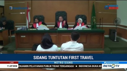 Tiga Bos First Travel Hadapi Sidang Tuntutan