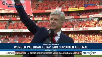 Salam Perpisahan Wenger untuk Arsenal