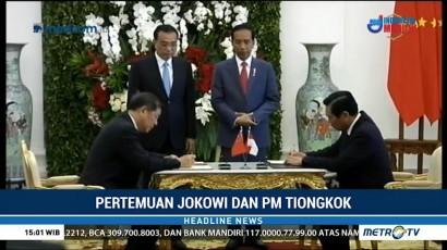 Pertemuan Jokowi dengan PM Tiongkok Sepakati Kerja Sama Ekonomi