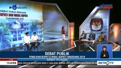 Debat Publik Pilkada Kabupaten Tangerang 2018 (2)