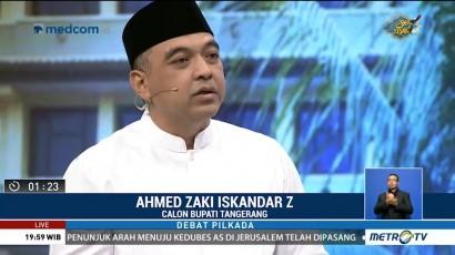 Debat Publik Pilkada Kabupaten Tangerang 2018 (3)