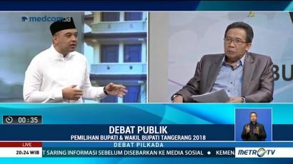 Debat Publik Pilkada Kabupaten Tangerang 2018 (4)