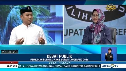 Debat Publik Pilkada Kabupaten Tangerang 2018 (6)