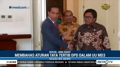 Jokowi Bertemu Pimpinan DPD