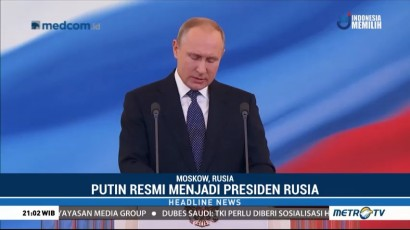 Putin Janji Tingkatkan Standar Hidup di Rusia