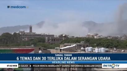 Serangan Udara ke Istana Kepresidenan Yaman Tewaskan Enam Orang