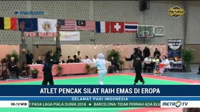 Atlet Pencak Silat Indonesia Raih Kemenangan di Belgia