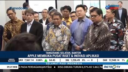 Apple Resmi Buka Pusat Riset dan Inovasi Aplikasi di Indonesia