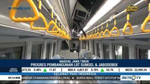 Melihat Fasilitas Kereta LRT Palembang