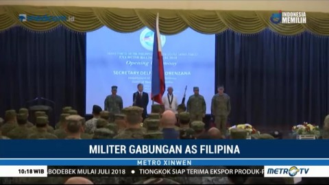 Militer AS-Filipina Gelar Latihan Gabungan