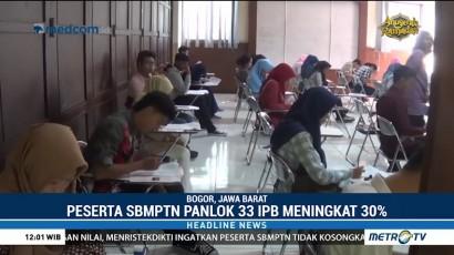 Peserta SBMPTN Panlok 33 Bogor Meningkat