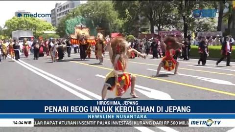 Reog Ponorogo Tampil Memukau di Jepang