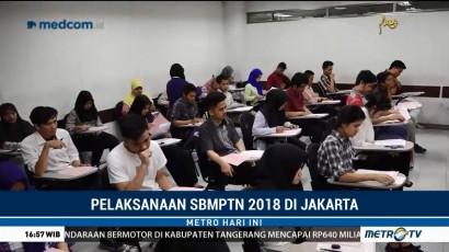 Pelaksanaan SBMPTN 2018 di Jakarta Berjalan Lancar