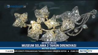 Renovasi Rampung, Museum Batu Permata di Belgia Kembali Dibuka