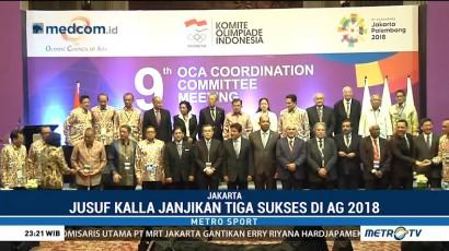 JK Optimis Indonesia Raih Tiga Sukses di Asian Games 2018