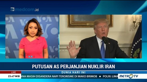 Keputusan AS Keluar dari Kesepakatan Nuklir Iran Mendapat Kecaman