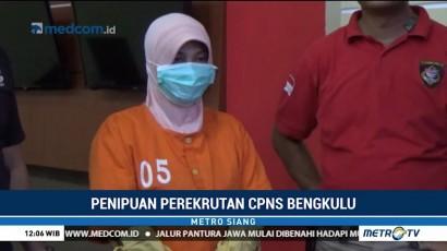 Tipu CPNS, Oknum Pegawai di Bengkulu Raup Rp1,8 Miliar