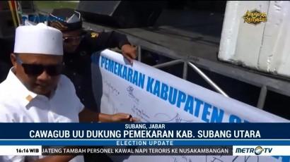 Pasangan Rindu Dukung Pemekaran Kabupaten Subang Utara