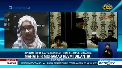 Mahathir Mohamad Resmi Dilantik Jadi Perdana Menteri Malaysia