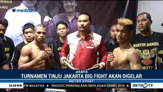Turnamen Tinju Jakarta Big Fight akan Digelar