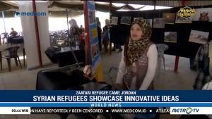 Syrian Refugees Showcase Innovation Ideas