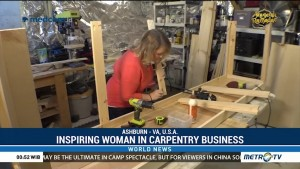 Inspiring Woman in Carpentry Business