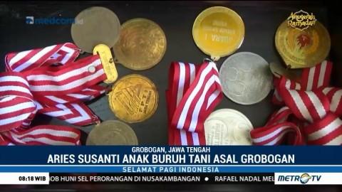 Anak Buruh Tani Ini Harumkan Nama Indonesia di Kejuaraan Dunia