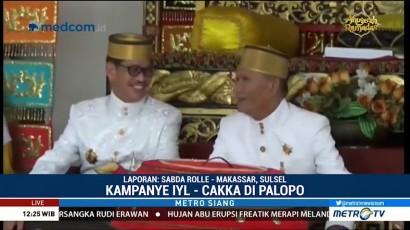 IYL-Cakka Minta Doa Restu dari Datu Luwu