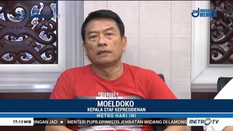 Moeldoko Pastikan Pemerintah akan Evaluasi Kerusuhan di Mako Brimob
