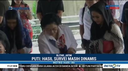 Puti Guntur Soekarno Klaim Elektabilitas Pasangannya Unggul
