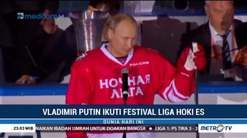 Vladimir Putin Ikuti Festival Liga Hoki Es