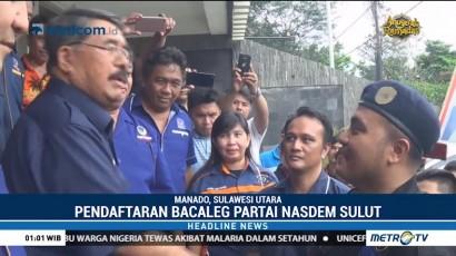 Figur Muda Sulut Daftar Jadi Bacaleg Partai NasDem