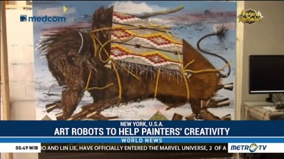 Art Robots to Help Painters' Creativity