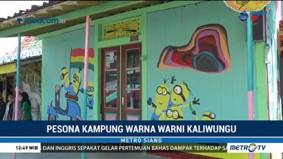 Pesona Kampung Warna Warni Kaliwungu
