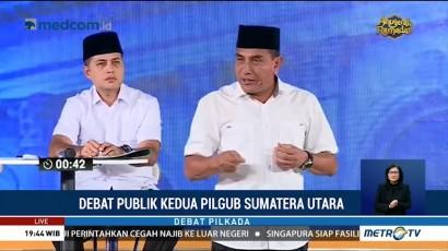 Debat Publik Kedua Pilgub Sumatera Utara (1)