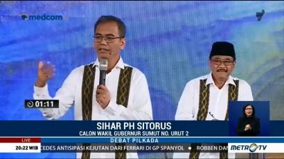 Debat Publik Kedua Pilgub Sumatera Utara (3)